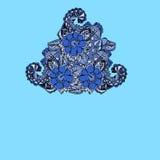 Cartão floral do teste padrão Imagens de Stock