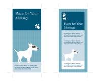 cartão frente e verso da cremalheira 4x9 Foto de Stock Royalty Free