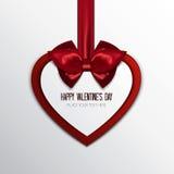 Cartão-fundo do cumprimento do Valentim Imagem de Stock