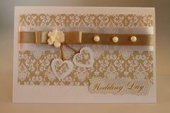 Cartão Handmade Imagem de Stock