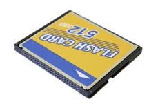 Cartão instantâneo compacto Foto de Stock