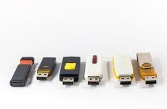 Cartão instantâneo do USB Imagens de Stock