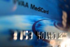 Cartão médico (do crédito) fotografia de stock