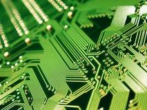 Cartão-matriz da ferragem de computador Imagem de Stock Royalty Free