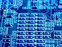 Cartão-matriz do circuito de computador Fotos de Stock Royalty Free
