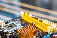 Cartão-matriz do computador Foto de Stock