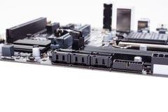 Cartão-matriz do computador do PC imagens de stock