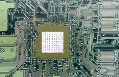 Cartão-matriz do material informático Imagem de Stock Royalty Free