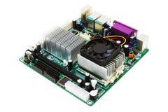 Cartão-matriz Mini-ITX Fotografia de Stock Royalty Free