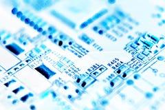 Cartão-matriz, placa de circuito, computadores, tecnologia Foto de Stock