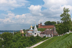 Cartão a Nizhny Novgorod Rússia Imagens de Stock Royalty Free