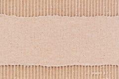 Cartão ondulado   Imagem de Stock Royalty Free