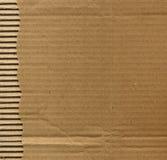 Cartão ondulado imagens de stock