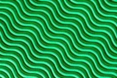 Cartão ondulado verde fotos de stock royalty free