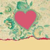 Cartão ou convite de casamento com floral. EPS 8 Imagens de Stock