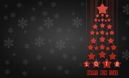 Cartão ou papel de parede para o feriado de inverno Fotos de Stock Royalty Free
