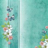 Cartão para felicitações ao feriado ilustração royalty free