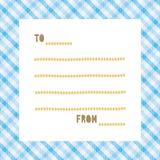 Cartão para greeting5 Fotos de Stock