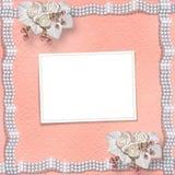 Cartão para o aniversário ou as felicitações ao dia de Valentim do St. Foto de Stock Royalty Free