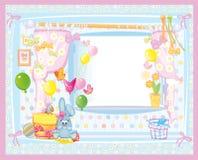 Cartão para o bebê. Fotos de Stock
