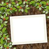 Cartão para o cumprimento ou o convite Imagens de Stock Royalty Free