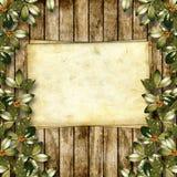 Cartão para o cumprimento ou o convite Foto de Stock Royalty Free