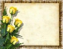 Cartão para o cumprimento ou o convite Fotos de Stock Royalty Free