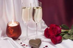 Cartão para o dia do `s do Valentim Foto de Stock Royalty Free
