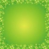 Cartão para o dia do St. Patrick, v Foto de Stock