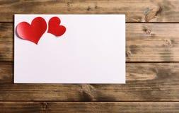Cartão para o dia dos Valentim Imagens de Stock