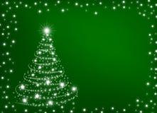 Cartão para o feriado nos vagabundos verdes Foto de Stock