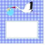 Cartão para o menino do aniversário ilustração stock