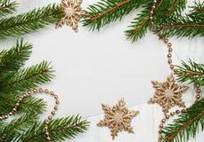 Cartão para o Natal Fotografia de Stock Royalty Free