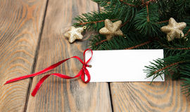 Cartão para o Natal imagem de stock