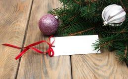 Cartão para o Natal imagens de stock royalty free