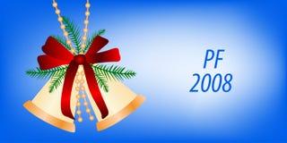 Cartão para o projeto do Natal Foto de Stock Royalty Free