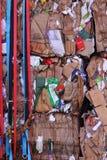 Cartão para recicl Imagens de Stock