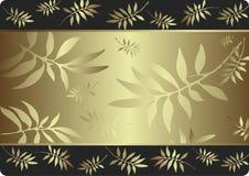 Cartão prateado ilustração royalty free
