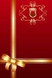 Cartão real ilustração royalty free
