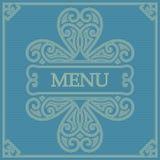 Cartão retro para o menu Imagens de Stock Royalty Free