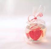Cartão romântico foto de stock