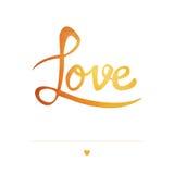 Cartão romântico Imagem de Stock