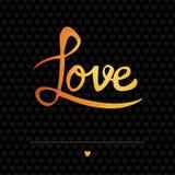 Cartão romântico Imagem de Stock Royalty Free