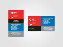 Cartão social profissional Imagens de Stock Royalty Free