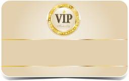 Cartão superior do vip Fotografia de Stock