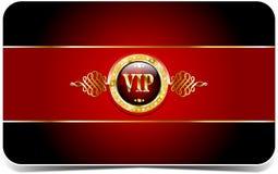 Cartão superior do vip Fotos de Stock