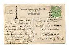 Cartão velho imagens de stock royalty free