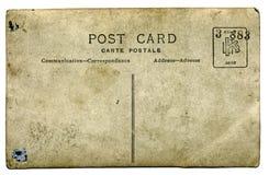 Cartão velho fotografia de stock royalty free