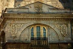 Cartão velho de uma construção histórica Timisoara, Romênia 24 imagens de stock royalty free