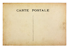 Cartão velho do vintage Fotografia de Stock